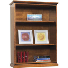 OSP Furniture Mendocino Hardwood Veneer Bookcase/Open Hutch