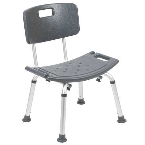 Our HERCULES Series Tool-Free and Quick Assembly, 300 Lb. Capacity, Adjustable Bath & Shower Chair with Back is on sale now.