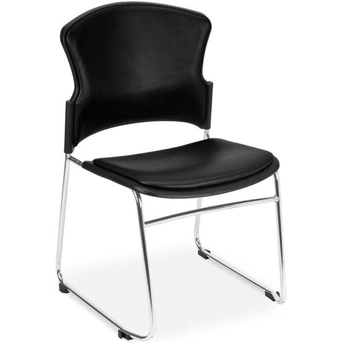 Our Multi-Use Stack Chair with Anti-Microbial and Anti-Bacterial Vinyl Seat and Back is on sale now.