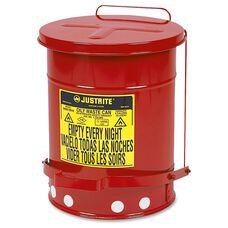 Justrite 6 Gallon Oily Waste Can