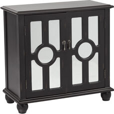 Inspired by Bassett Kendra Storage Console - Antique Black