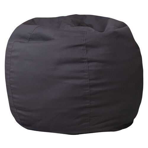 Our Small Solid Gray Bean Bag Chair for Kids and Teens is on sale now.