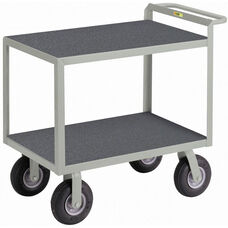 Instrument Cart with 2 Shelves and Non-Slip Vinyl Shelf Surface - 24