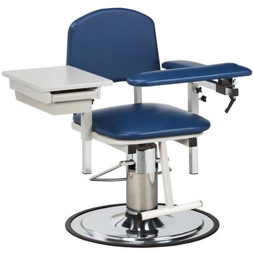 Our H Series Padded Adjustable Blood Drawing Chair with Padded Flip Arm and Drawer is on sale now.