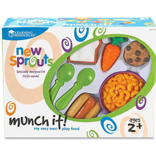 Learning Resources New Sprouts - Munch It! My Very Own Play Food - 20 Pieces