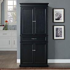 Parsons Wood Pantry - Black