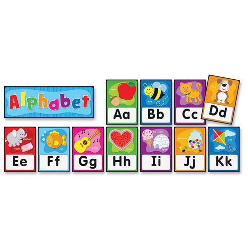 Our Carson-Dellosa Publishing Alphabet Bulletin Board Set is on sale now.