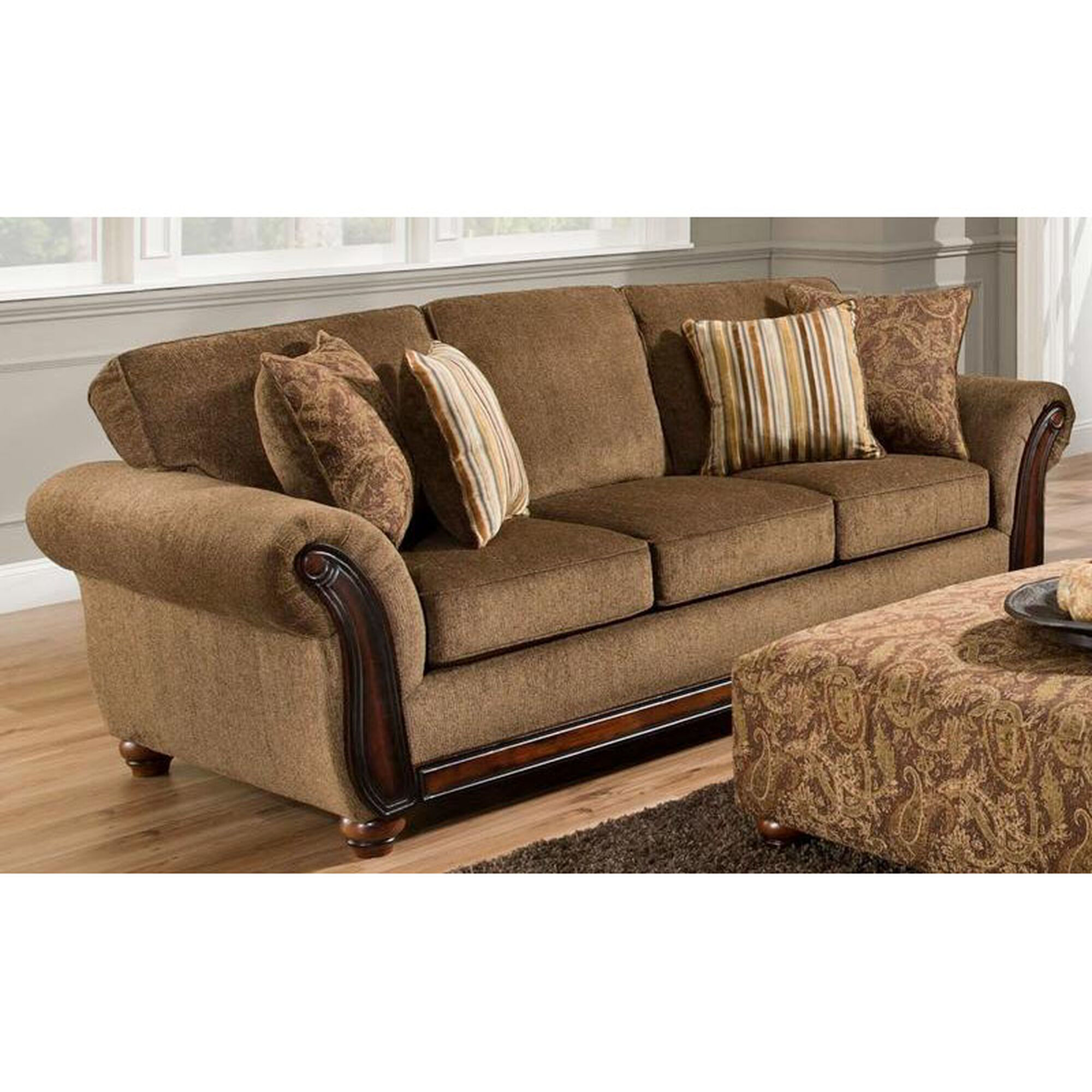 Chelsea home furniture fairfax transitional style for Home furnishing sites