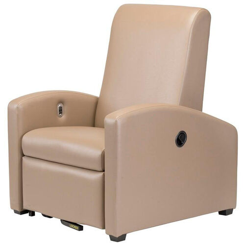 Augustine Treatment Recliner with Removable Seat and Rear Central Locking Caster