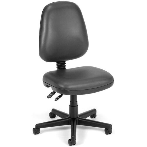 Our Straton Series Anti-Microbial and Anti-Bacterial Vinyl Task Chair - Charcoal is on sale now.