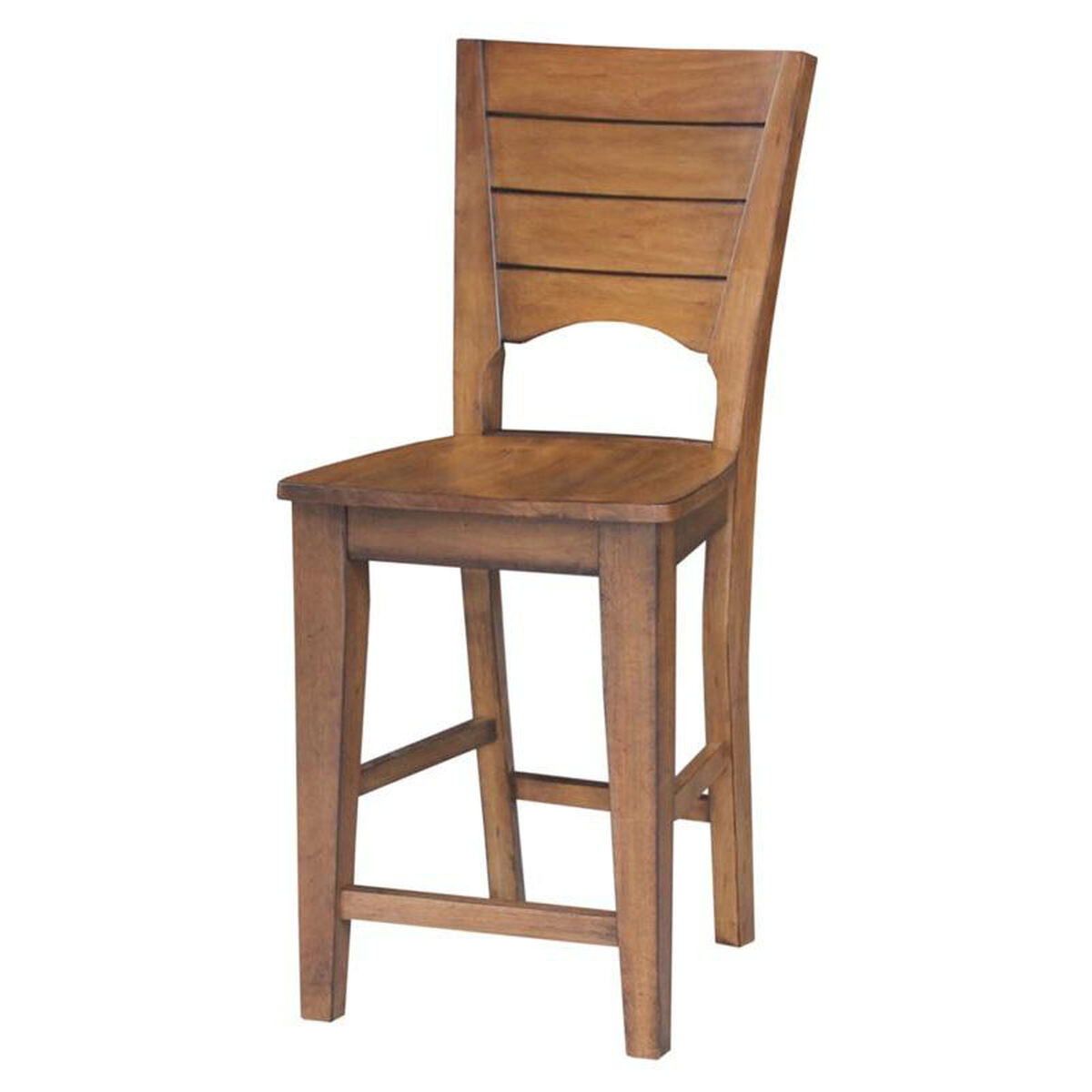 Solid Parawood Counter Stool S59 482 Bizchair Com
