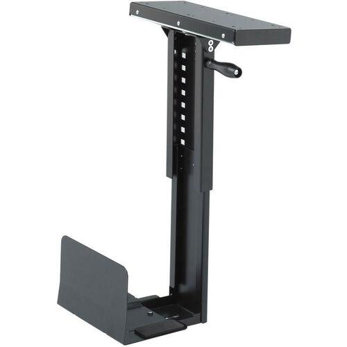 Ergo-Comfort® 180 Degree Adjustable Swivel Mount CPU Holder - Black