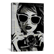 Shoot by Loui Jover Gallery Wrapped Canvas Artwork