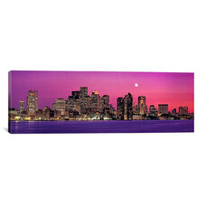 USA, Massachusetts, Boston, View of an urban skyline by Panoramic Images Gallery Wrapped Canvas Artwork