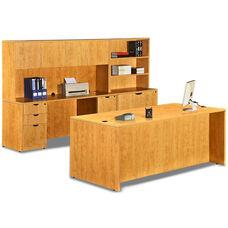 Honey 9 Piece Executive Office Set