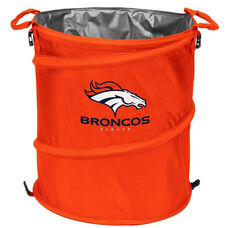 Denver Broncos Team Logo Collapsible 3-in-1 Cooler Hamper Wastebasket