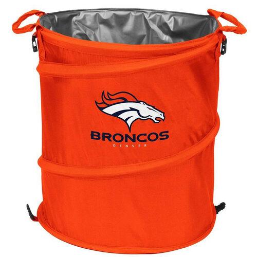 Denver Broncos Team Logo Collapsible 3-in-1 Cooler Hamper Wastebasket