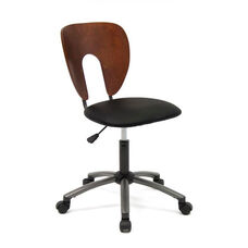 Ponderosa Height Adjustable Office Chair with 5 Star Metal Base and Casters