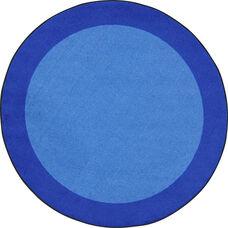 Kid Essentials All Around Nylon Rug with SoftFlex Backing - Dark Blue - 91