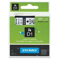 Dymo Black on White D1 Label Tape - 0.25