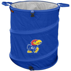 University of Kansas Team Logo Collapsible 3-in-1 Cooler Hamper Wastebasket