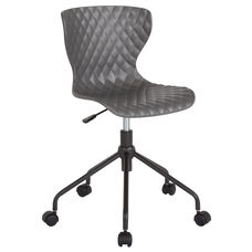 Brockton Contemporary Design Gray Plastic Task Chair