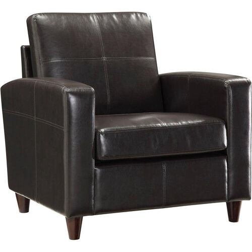 Our OSP Furniture Eco Leather Club Chair with Espresso Finish Legs - Espresso is on sale now.
