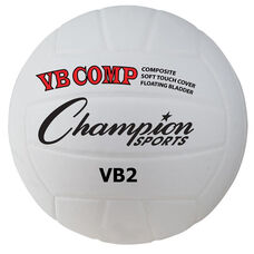 VB Pro Comp Official Size and Weight Volleyball in White