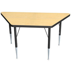 High Pressure Laminate Trapezoid Shaped Activity Table - 30-60