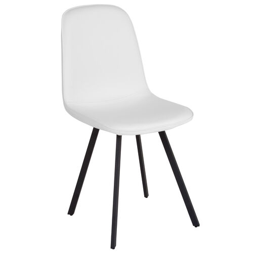 Our Argos Contemporary Dining Chair in White Vinyl is on sale now.