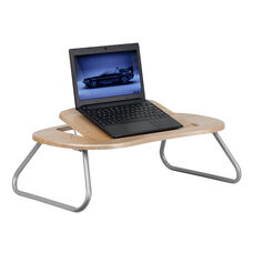 Natural Angle Adjustable Laptop Desk with Foldable Legs