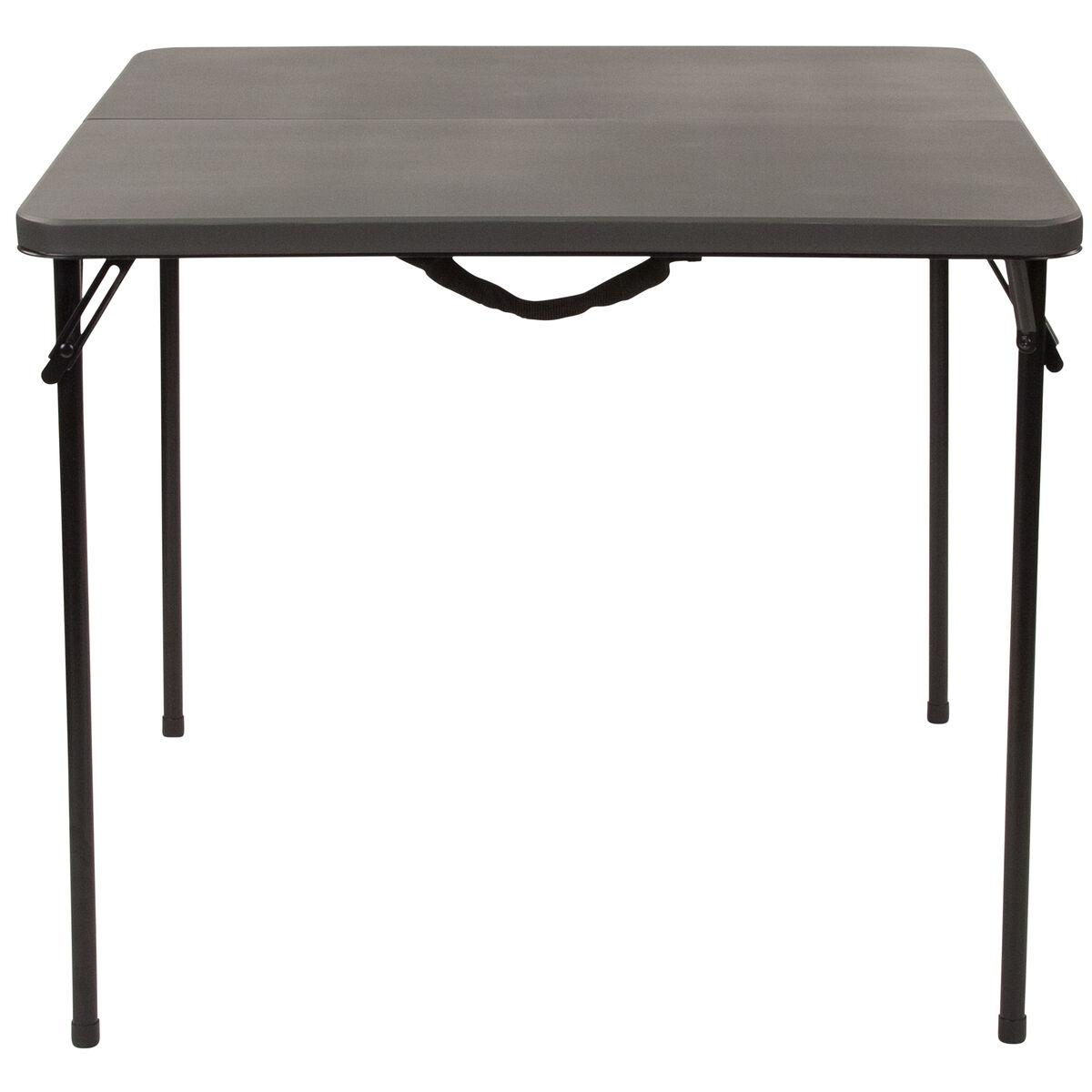 34sq gray plastic fold table dad lf 86 dg gg bizchair com