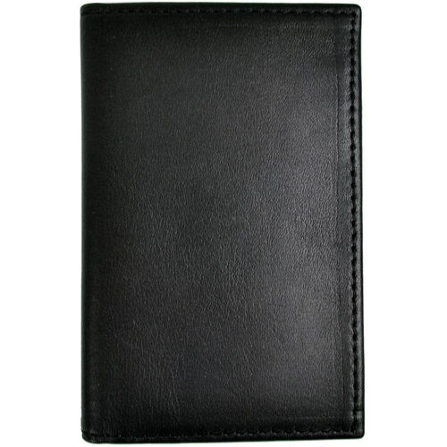 Our RFID Blocking Credit Card Organizer Wallet in Saffiano Genuine Leather - Black is on sale now.