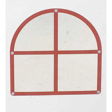 Wall Hung Arched Window Mirror - 22.5