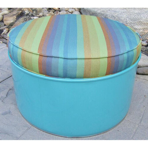 Our Laguna Steel Drum Ottoman with Multicolor Accents is on sale now.