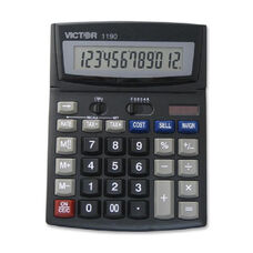 Victor Technology 1190 Desktop Display Calculator