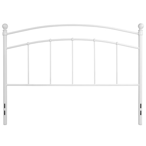 Our Woodstock Decorative White Metal Queen Size Headboard is on sale now.