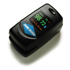 Compact Lightweight DigiO2 Finger Pulse Oximeter