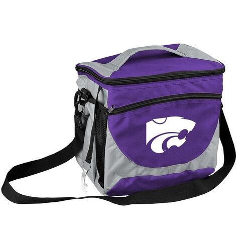 Kansas State University Team Logo 24 Can Cooler