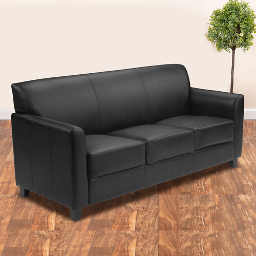 Our HERCULES Diplomat Series LeatherSoft Sofa with Clean Line Stitched Frame is on sale now.