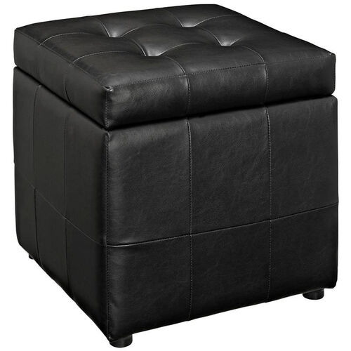 Our Volt Storage Ottoman in Black is on sale now.