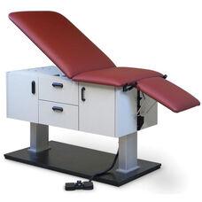 Econo-Line™ Power Clinc Examination Table - Folkstone Gray Laminate