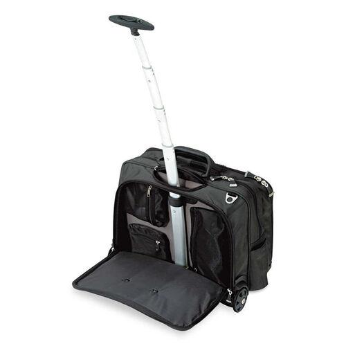 Our Kensington® Contour Rolling Laptop Case - Nylon - 17-1/2 x 9-1/2 x 13 - Black is on sale now.