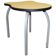 ELO Adapt High Pressure Laminate Junior Sized Desk with Adjustable Legs and 1.25