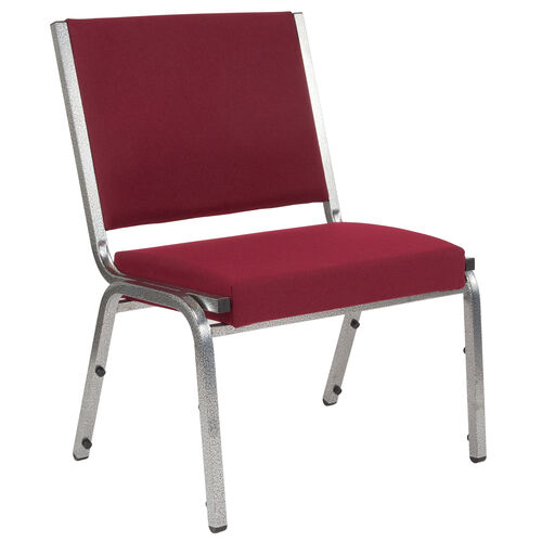 Our HERCULES Series 1500 lb. Rated Burgundy Antimicrobial Fabric Bariatric Medical Reception Chair is on sale now.