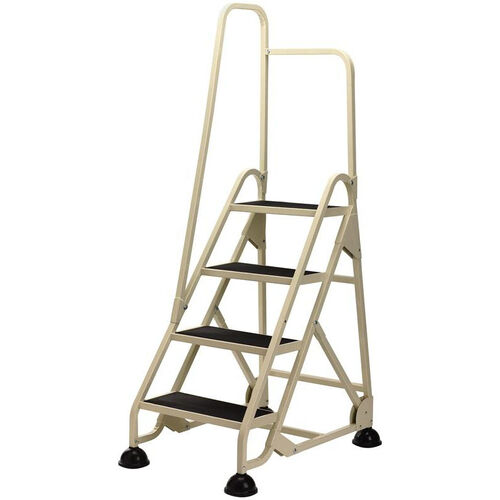 Our Stop Step 4 Step Ladder with Left Handrail - Beige is on sale now.