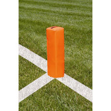 Weighted Football Goal Line End Markers - Set of 4