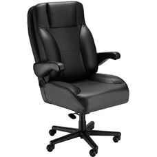 Chief Office Chair with Lumbar Support - Leather
