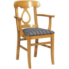 1889 Arm Chair w/ Upholstered Seat - Grade 1