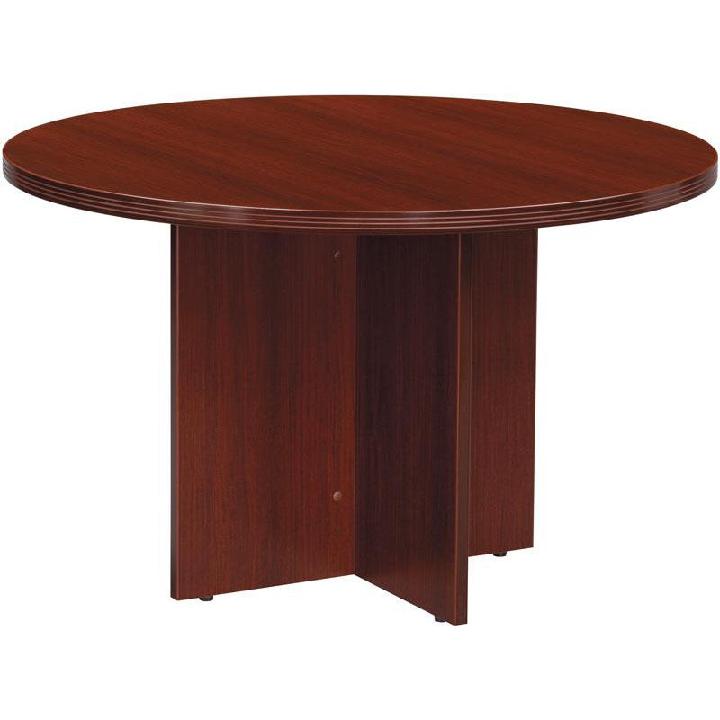 Merveilleux OSP Furniture Napa Round Conference Table   Mahogany